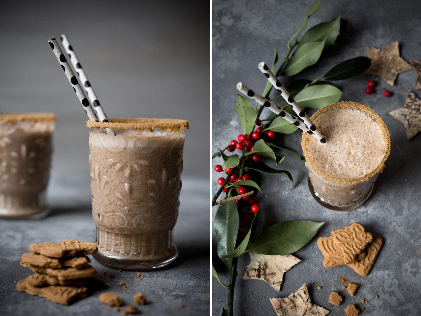 gesunder Spekulatius smoothie