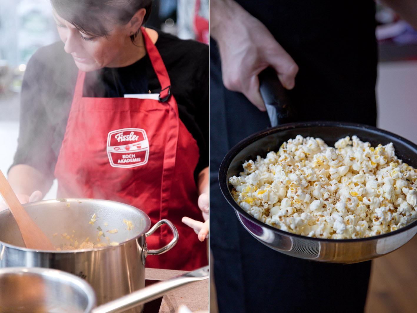 Kochen in der Fissler-Kochakademie