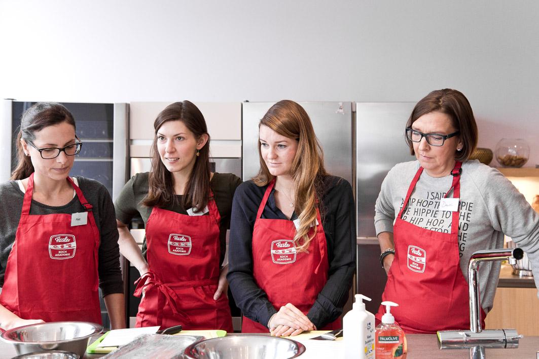 Teilnehmer der Fissler-Kochakademie