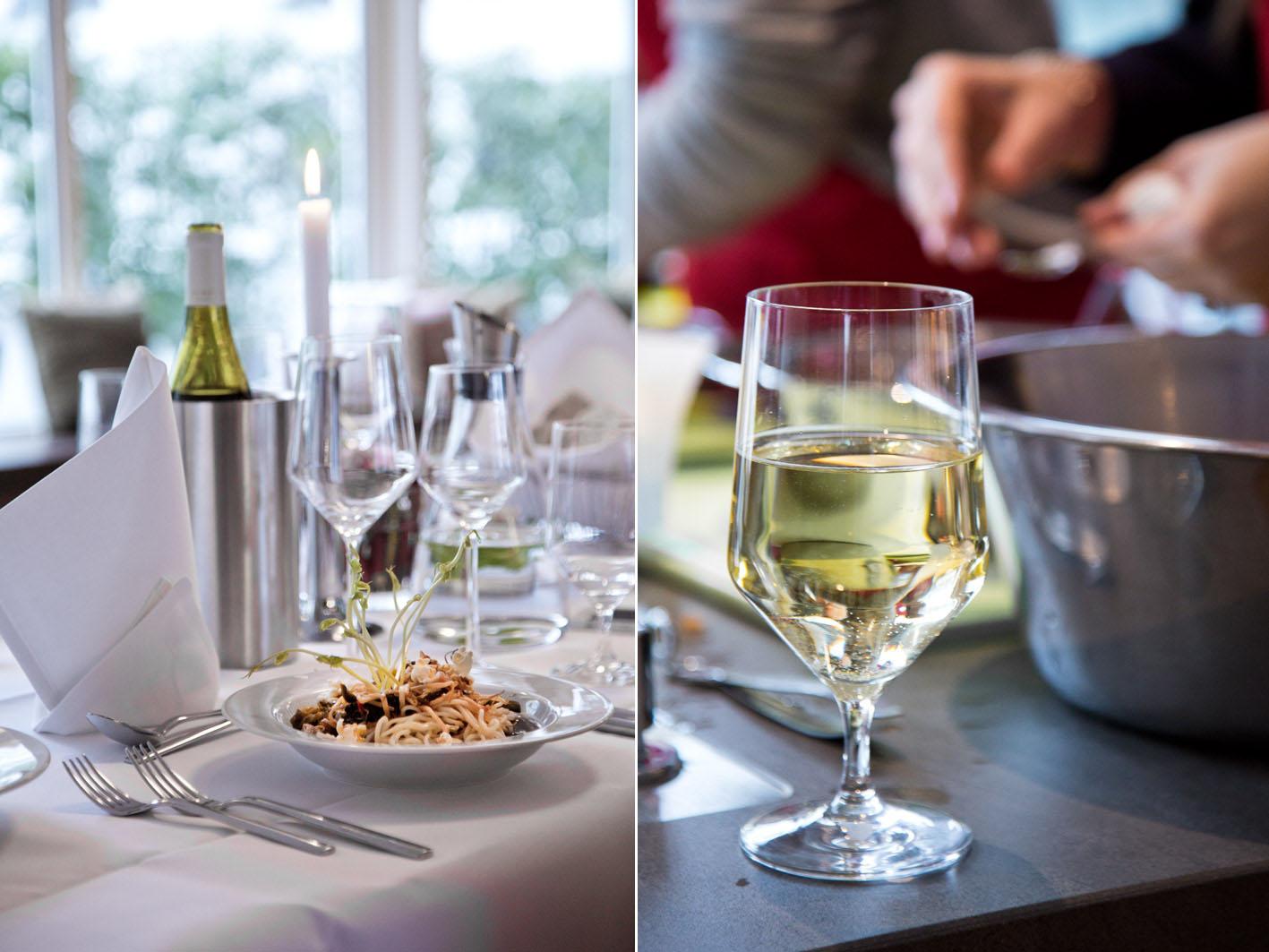 Wein in der Fissler-Kochakademie