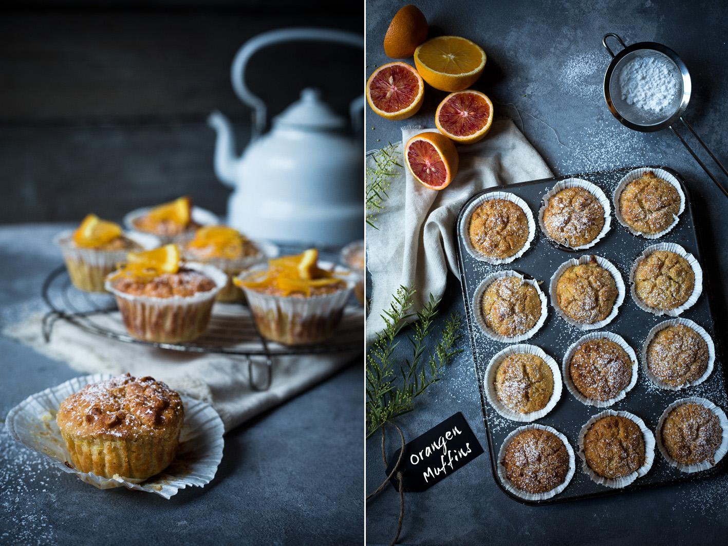 Orangen-Joghurt-Muffins mit gesunden Zutaten