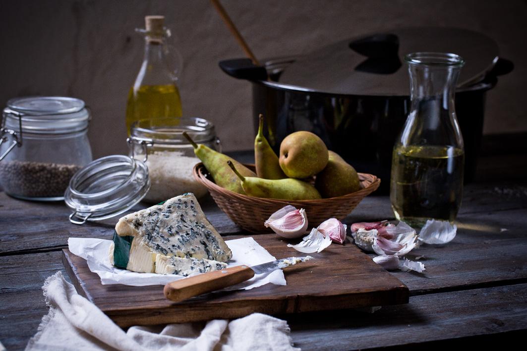 Zutaten für Gorgonzola-Risotto