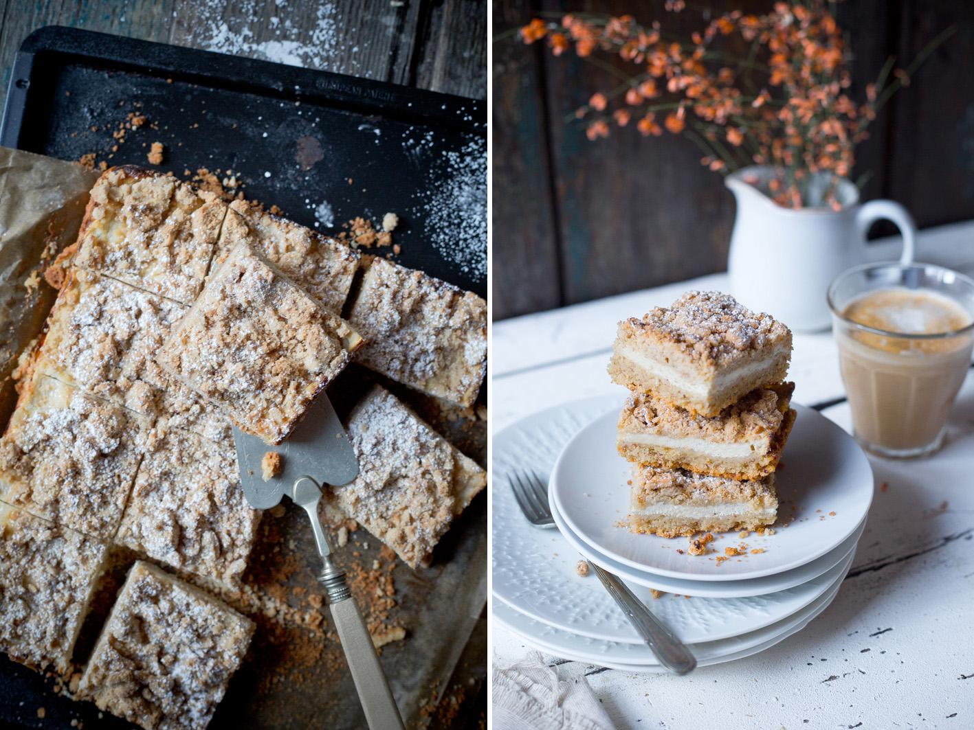 Rezept für glutenfreien Quark Streuselkuchen