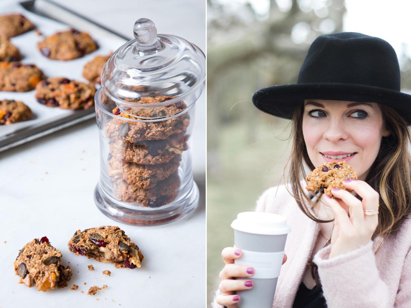 Gesunde Muesli Cookies