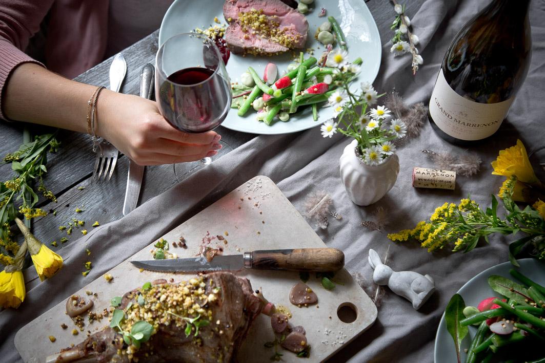 Rotwein für das Ostermenü