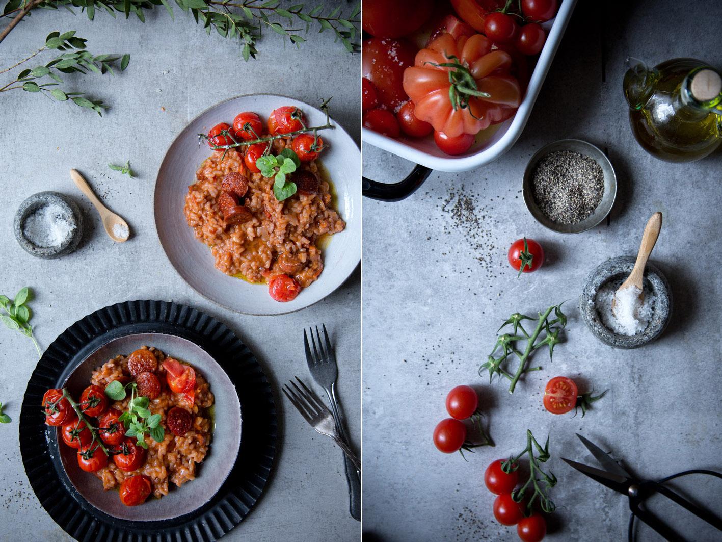 Rezept für Tomatenrisotto