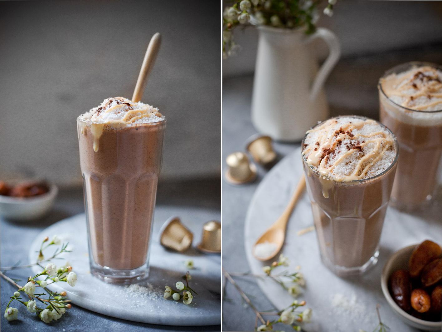 Schoko-Kaffee-Smoothie