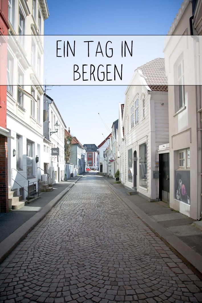 Ein Tag in Bergen, Norwegen