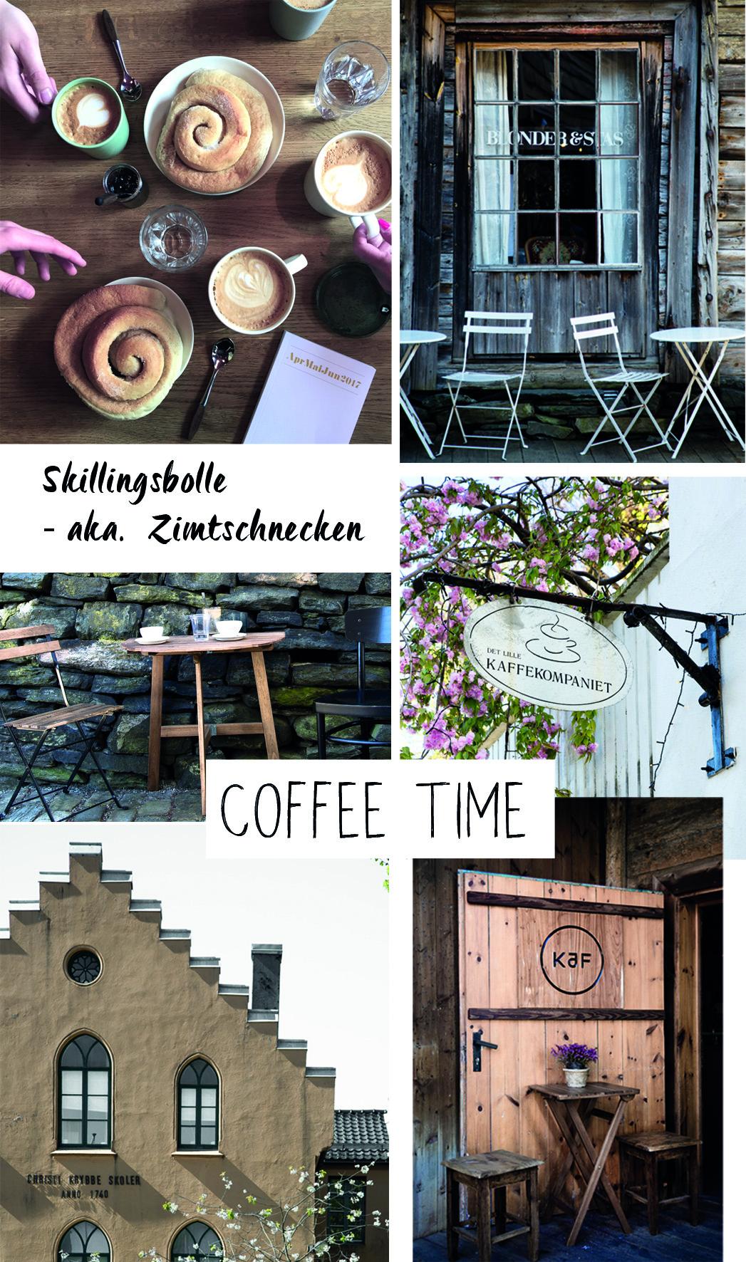 Kaffeetrinken in Bergen