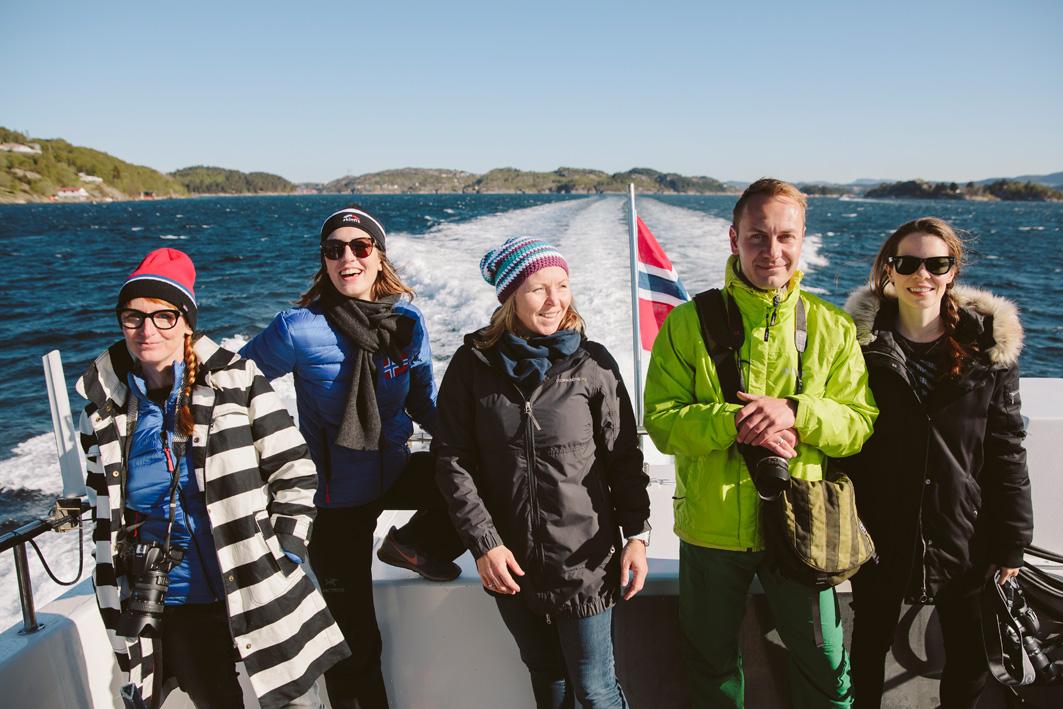 Blogger in Norwegen
