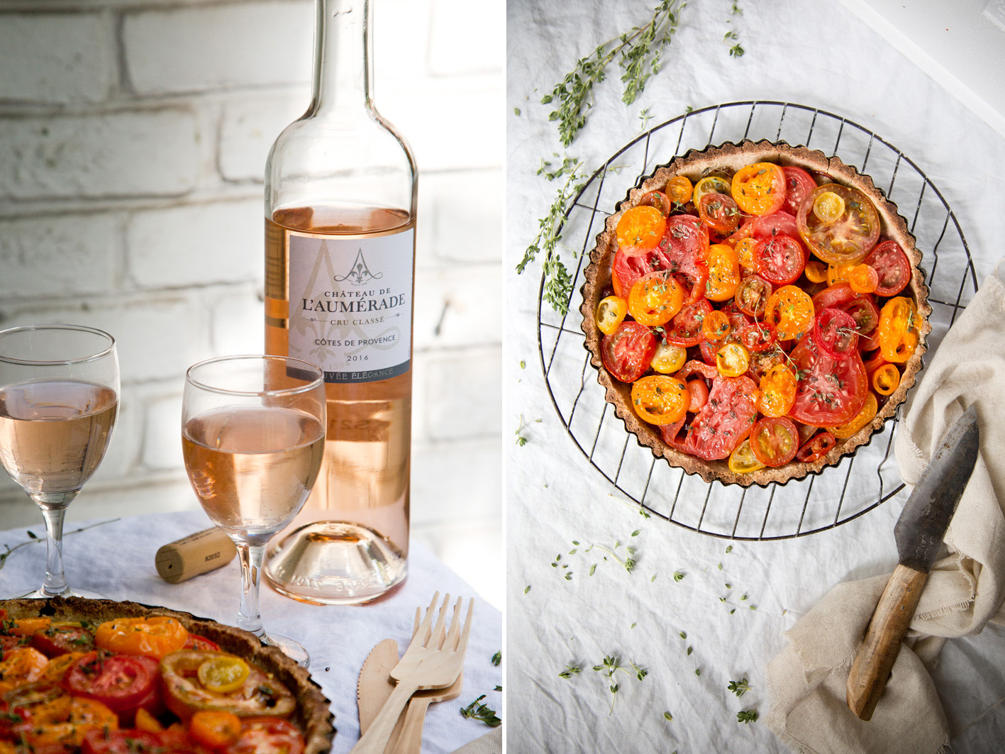 Rezept für Tomatentarte