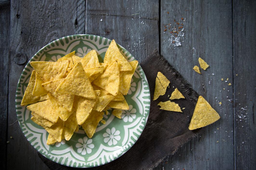 Mexikanische Tortilla Chips