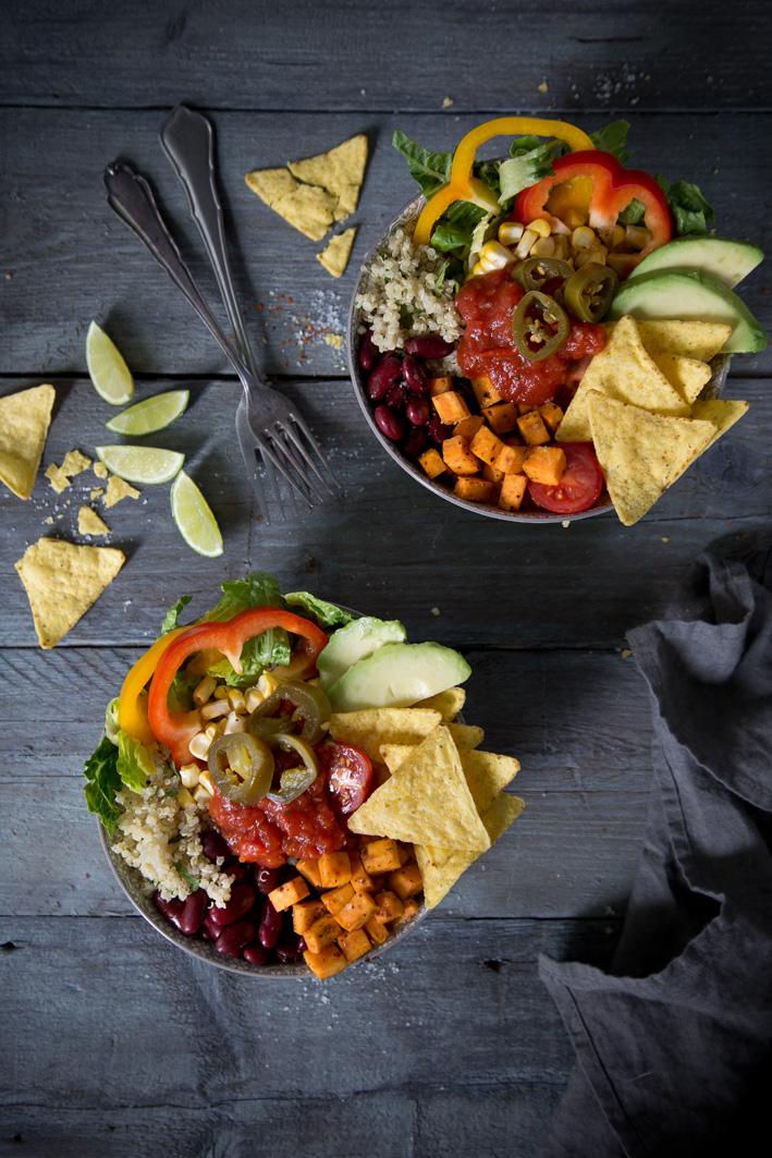 Mexikanischer Taco Salat