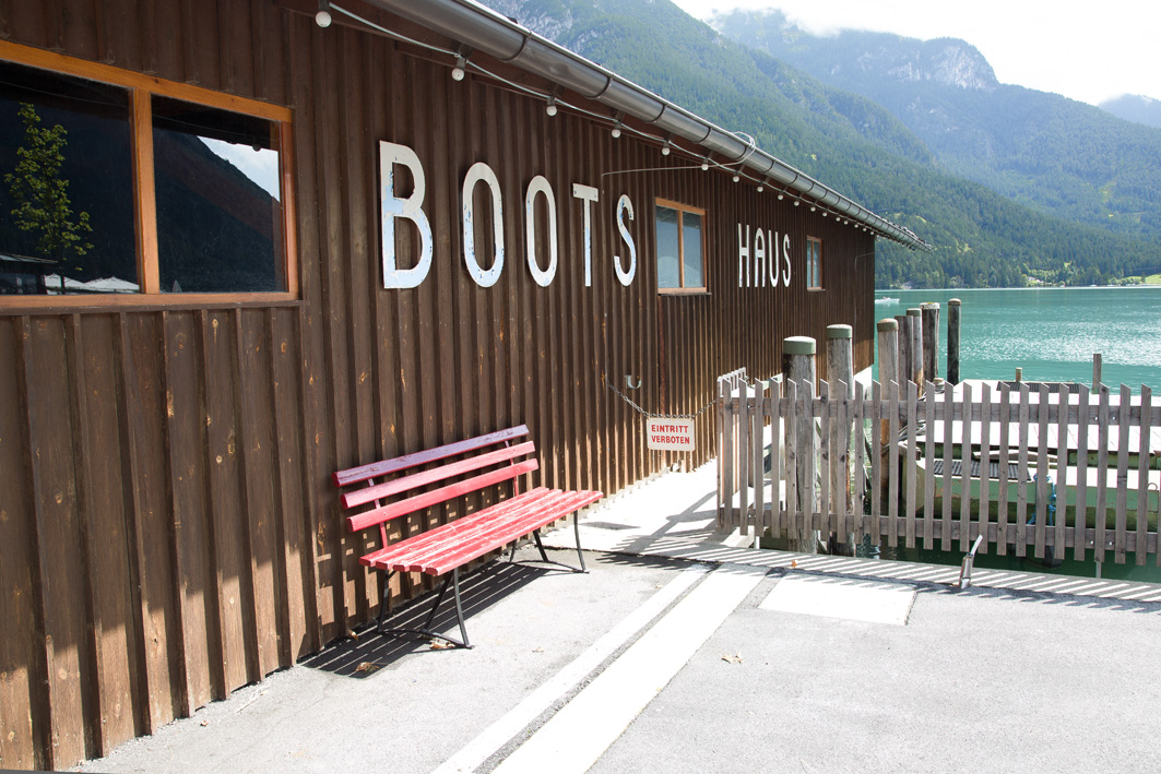 Bootshaus Pertisau