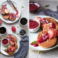 Buchweizen Kokos Pancakes