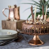 Snickers Cheesecake REzept