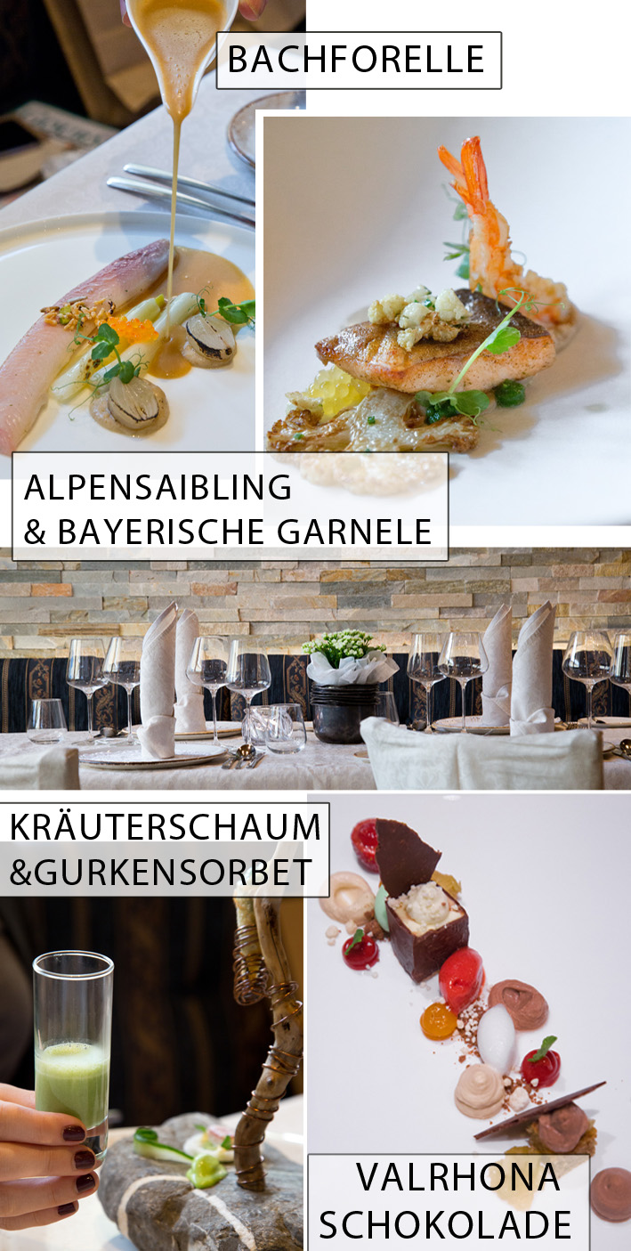 Menü Kulinarikhotel Alpin
