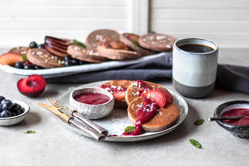 Rezept für Buchweizen Pancakes