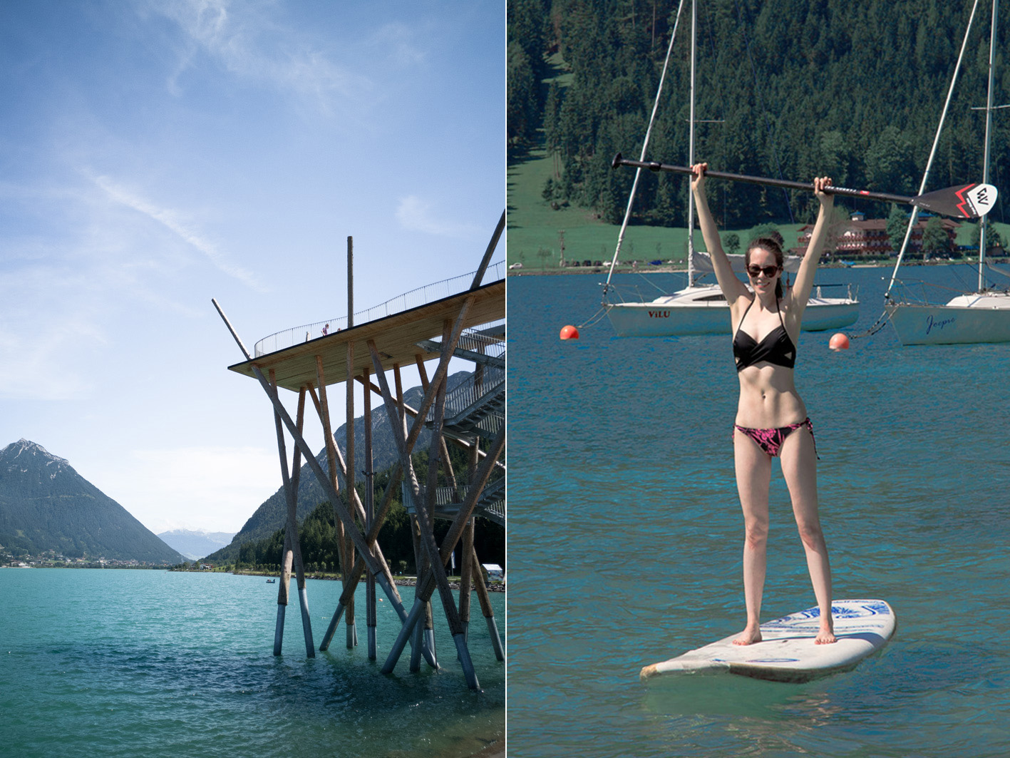 Stand Up Paddling Achensee