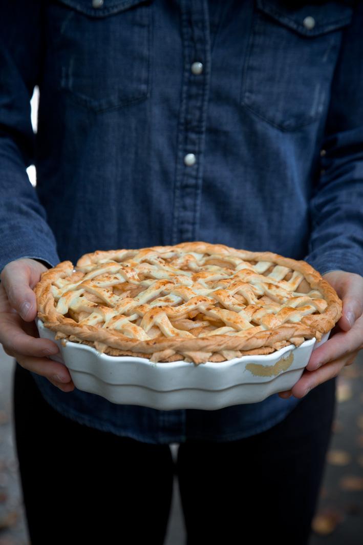 Rezept für Apple Pie aus den USA