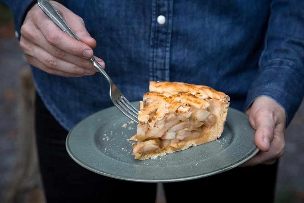 Apple Pie Rezept mit Ahornsirup