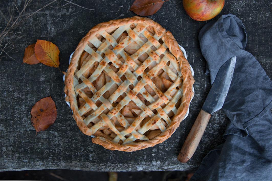 Rezept für klassischen Apple Pie