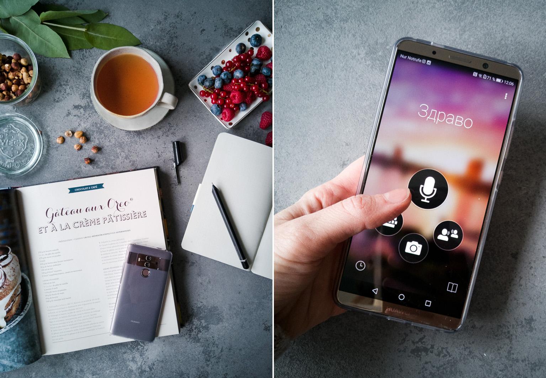 Übersetzungsfunktion im Huawei Mate10 Pro