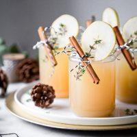 Weihnachtlicher Drink: Lillet Winter Thyme