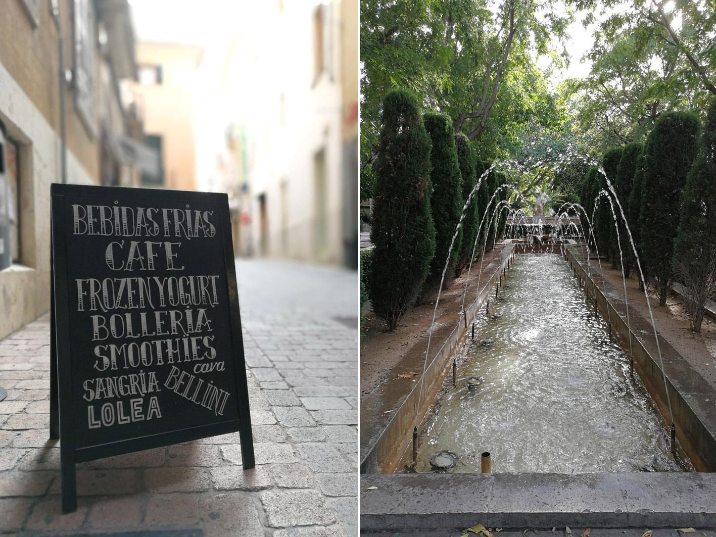 Brunnen in Palma de Mallorca