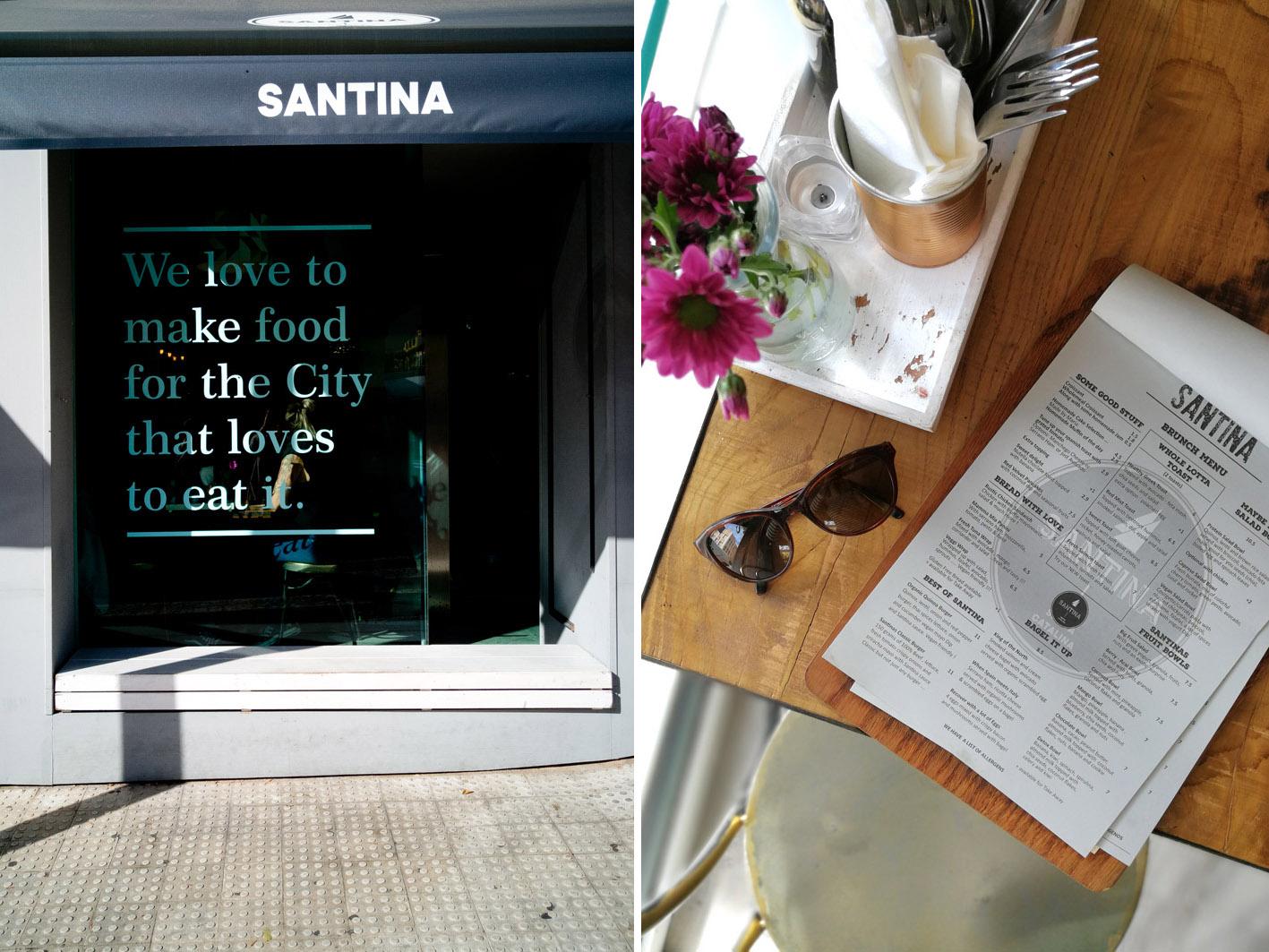 Menu Santina Palma de Mallorca
