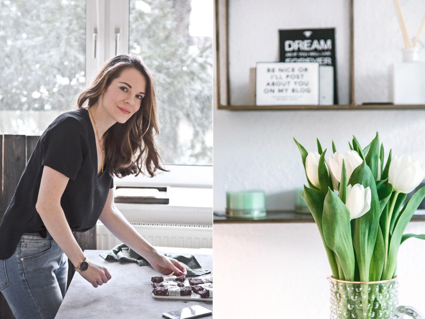 Das Büro von Denise von Foodlovin