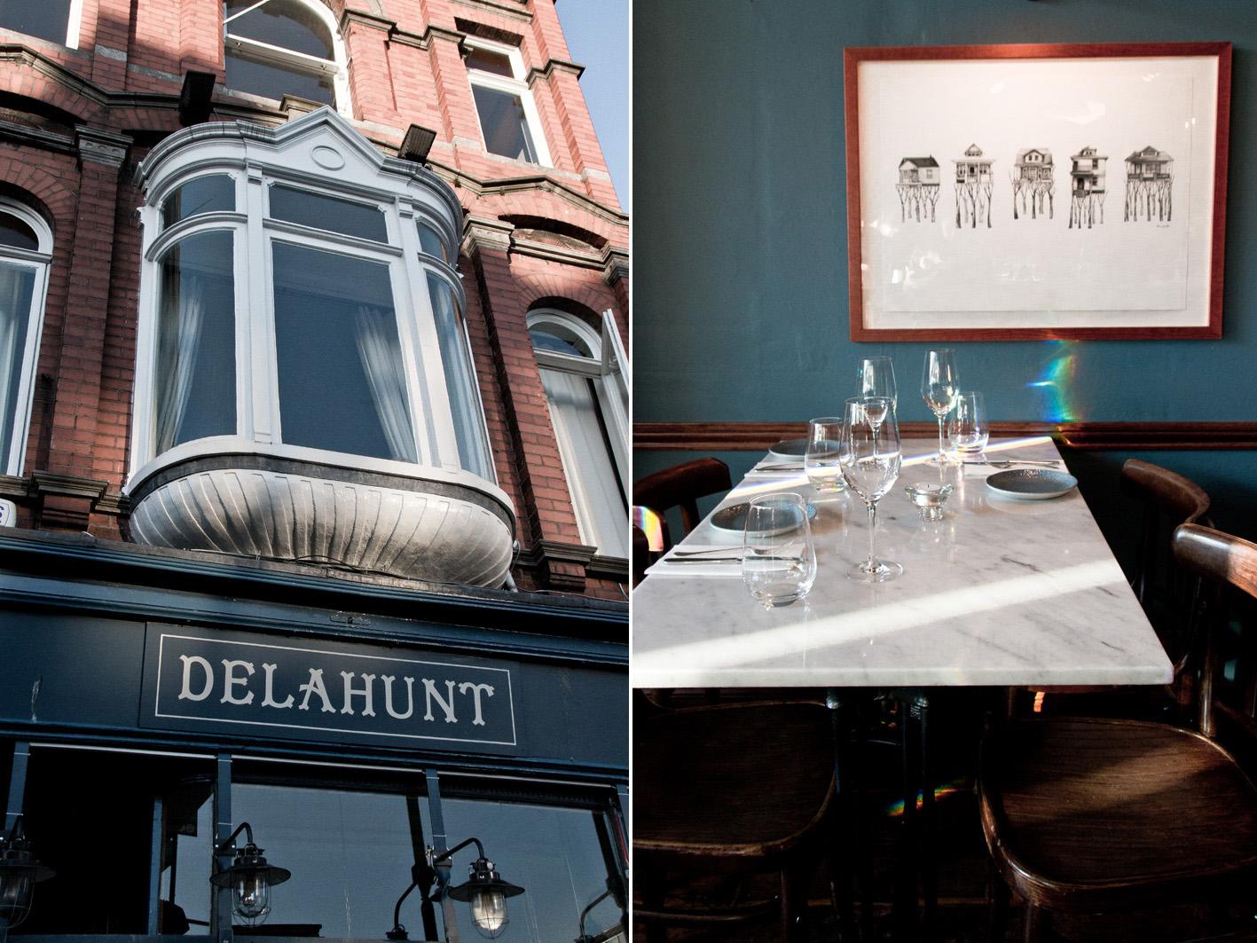 Delahunt Restaurant in Dublin