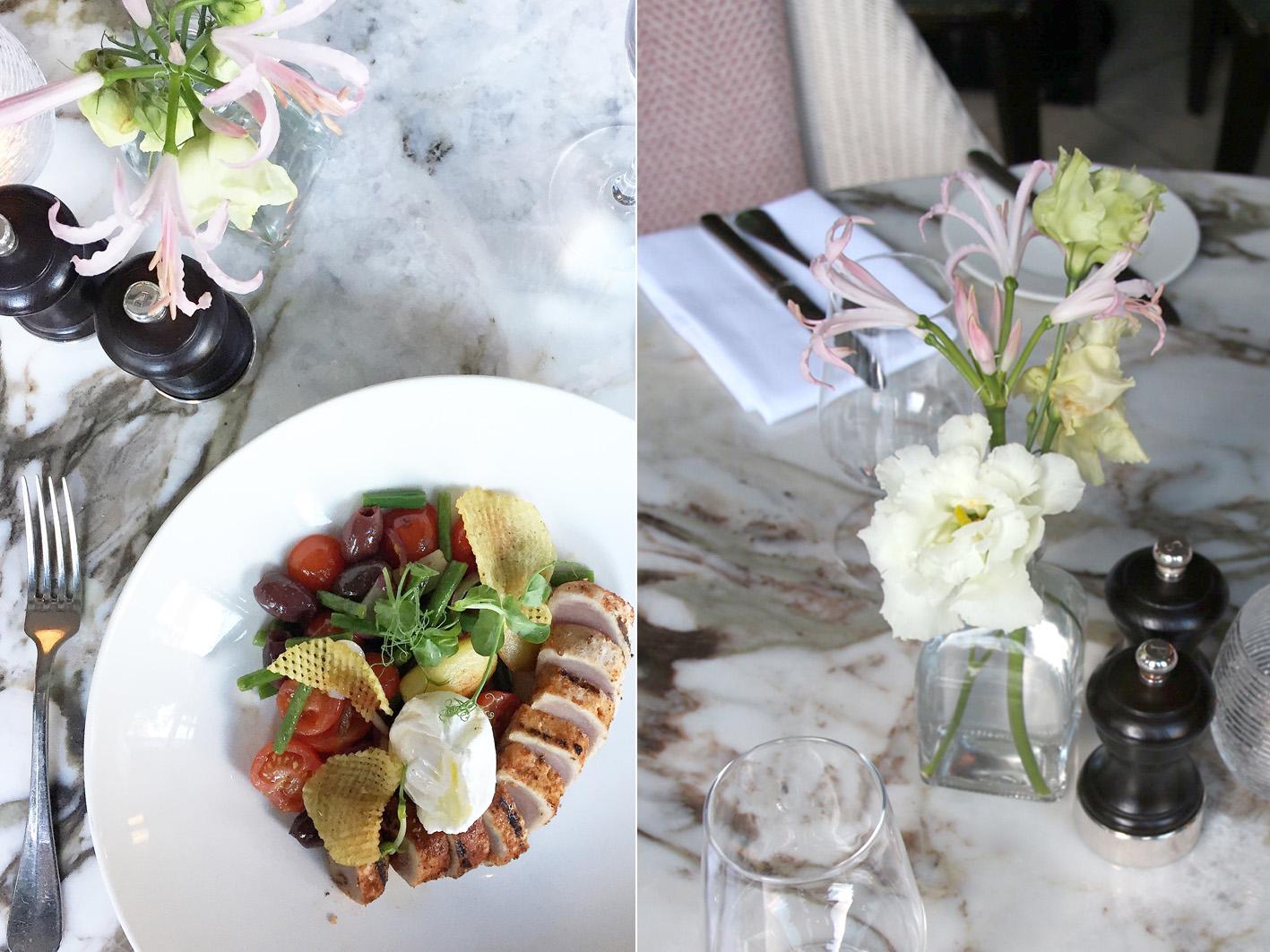 Dinner im Restaurant Wilde in Dublin