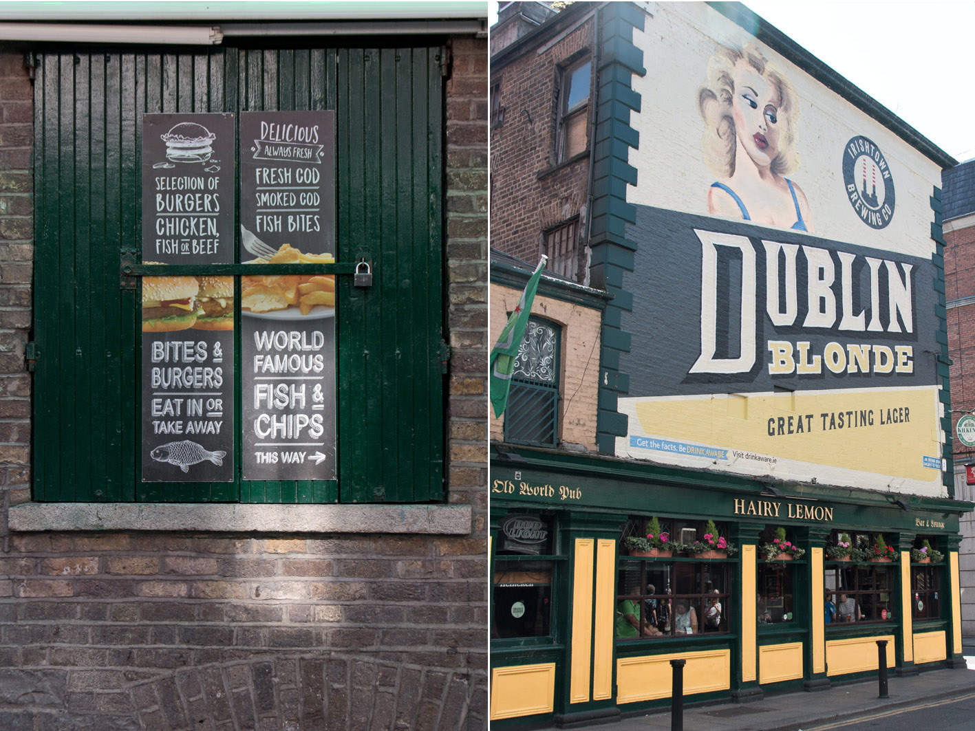 Dublin Fish & Chips und Bier