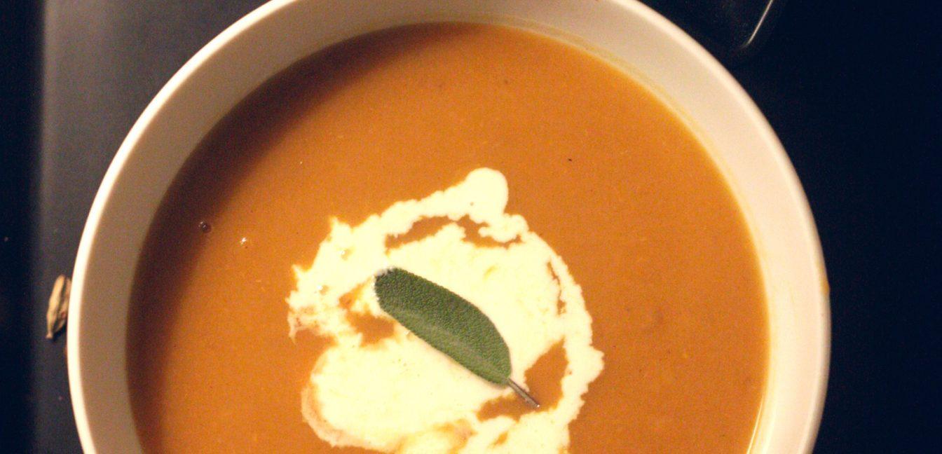 Spice it up! Mit Süßkartoffel-Chai-Suppe