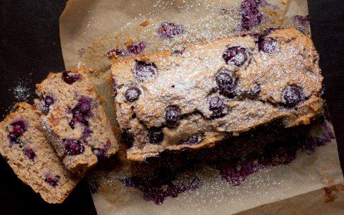 Gesünder geht Kuchen nicht: Blaubeer Buchweizen Kuchen