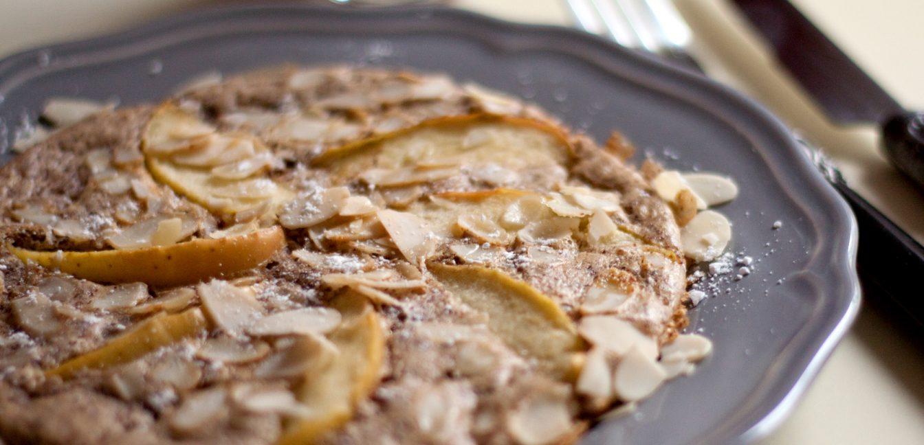 Apfel Nuss Pfannkuchen