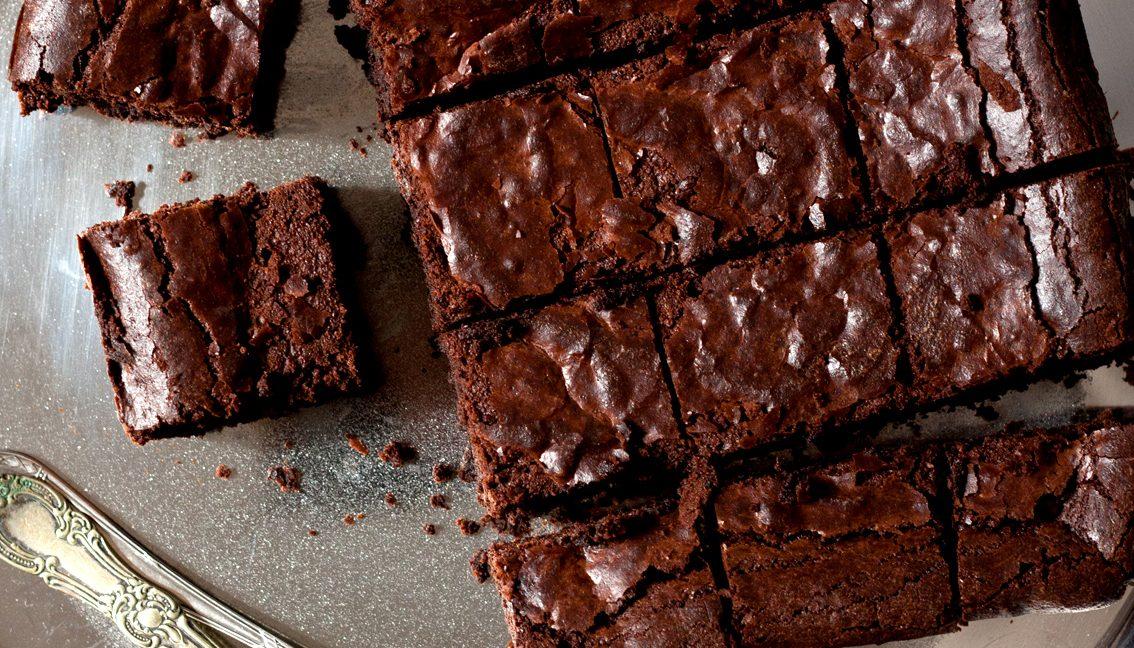Versüß' dir den Montag: mit Fudgy Brownies