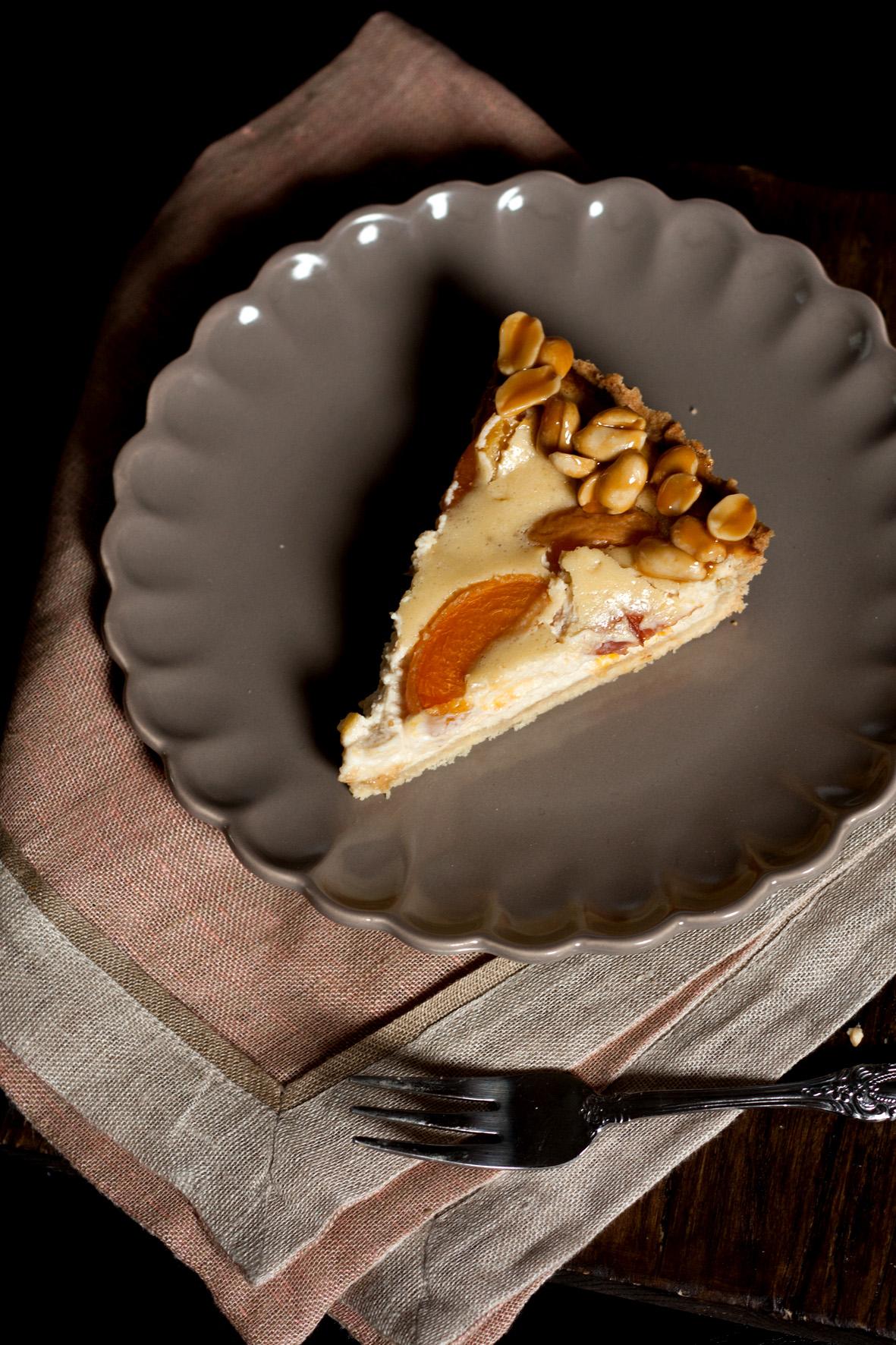 Aprikosen-Erdnuss-Tarte-2