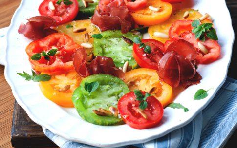 Grün gelb roter Tomatentraum