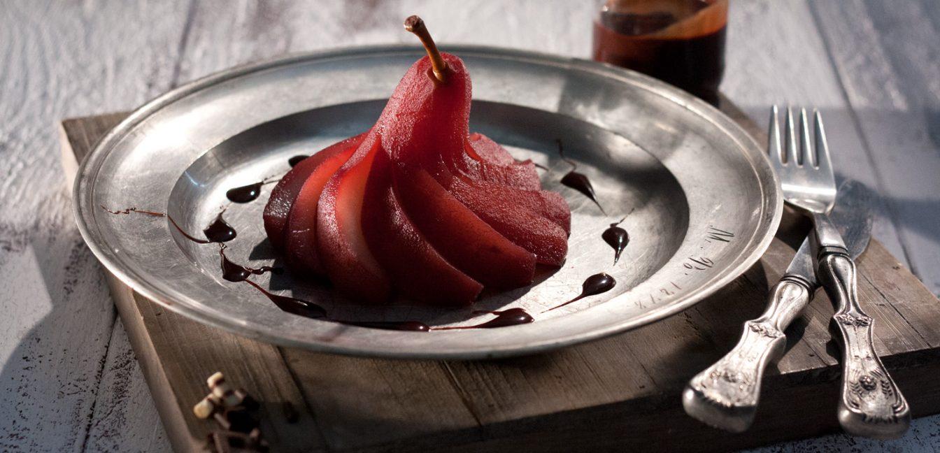 Beschwipste Helene oder auch: Rotweinbirne