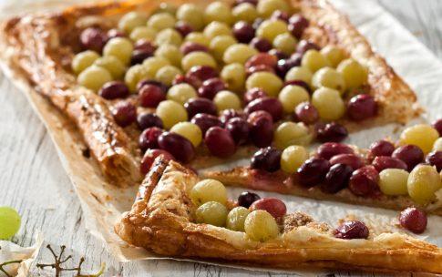 Ziegenkäse-Trauben-Tarte