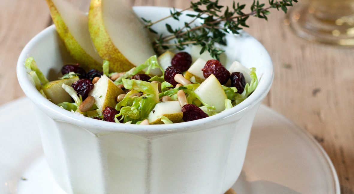 Gesundes Winter-Food: Rosenkohl-Salat