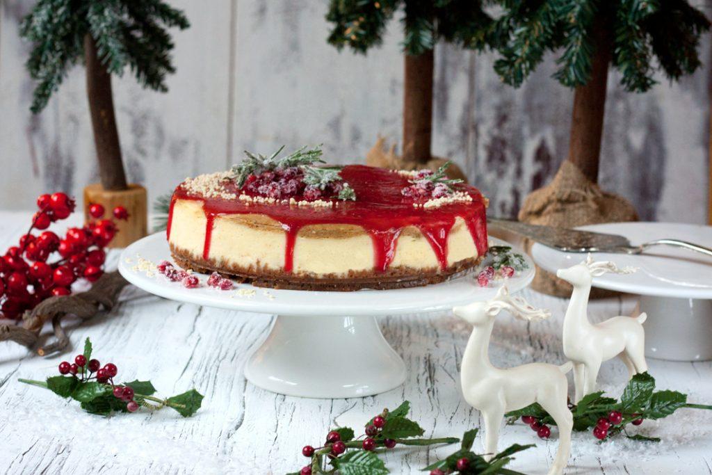 christmas cheesecake gluehweinglasur
