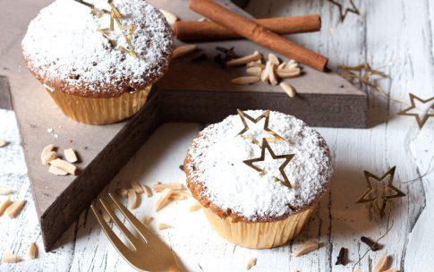 Zum Nikolaus und zweiten Advent: Stollen-Muffins