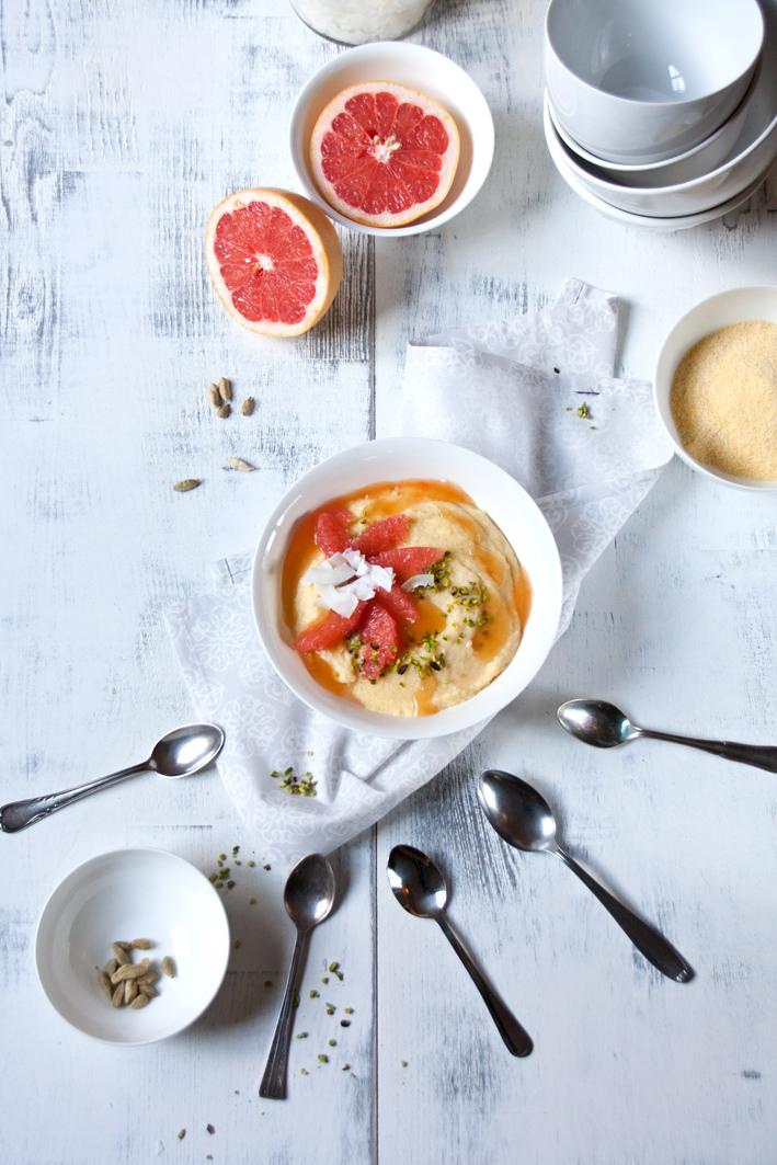 breakfast polenta spoons