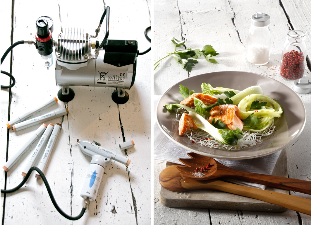 foodstyling airbrush