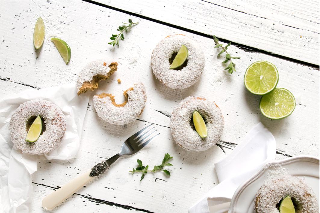 kokos limetten donuts foodlovin