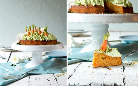 Wir feiern ein Frühlingsfest mit Möhren-Pistazien-Kuchen