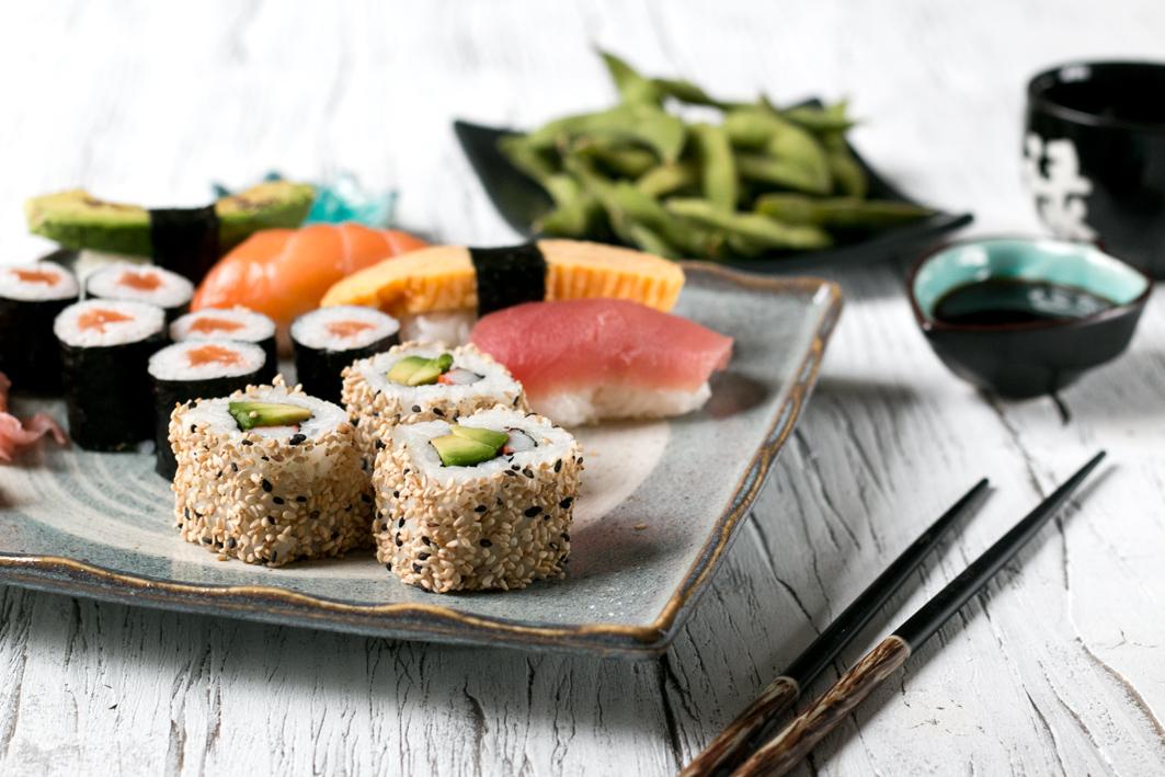 sushi test Düsseldorf